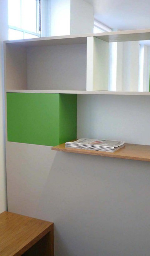 LRB office entrance furniture