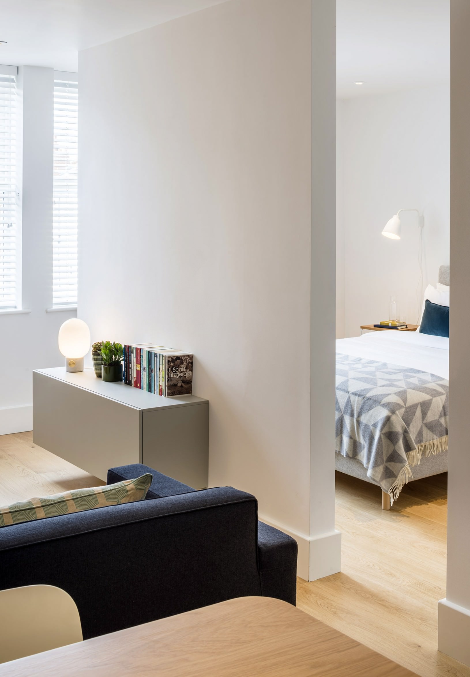 Fulham Road Apartments open plan